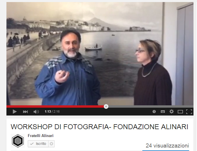 Programma workshop sito YouTube 2015